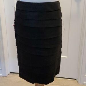 "NEW 7ForAllMankind Black ""Ribbon"" Bandage Skirt"